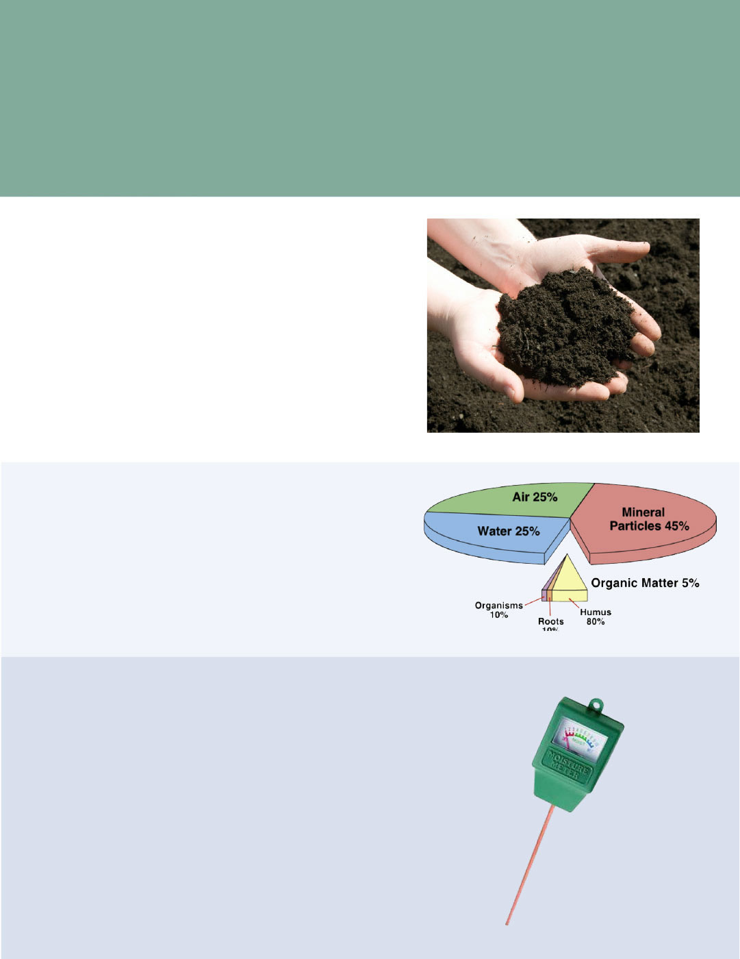 Managing your soil for Soil ribbon test